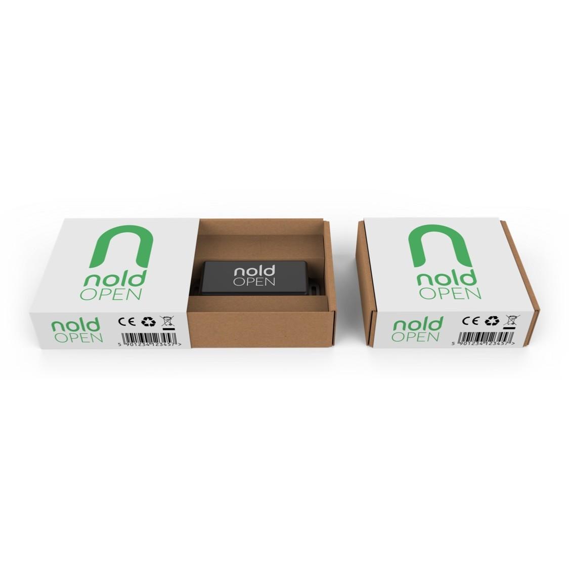 Nold open ouverture avec iphone android for Ouverture porte de garage avec smartphone